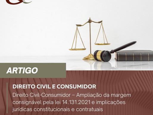 Ampliação da margem consignável pela lei 14.131.2021