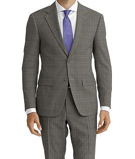 Drago Vantage Lt Grey Lt Blue Glen Plaid Suit:Z2-4071528  Lining:L6-4072691  Shirt:N5-4071883