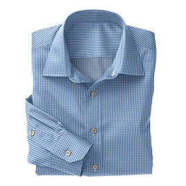 Blue White Check Shirt:N3-3340102