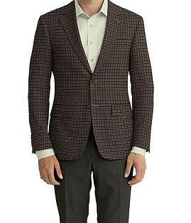 Dormeuil Dorsilk Natural Green Plaid Jacket:Y6-4073682  Lining:L4-4072743  Trouser:Z1-3336905  Shirt:N5-4071838