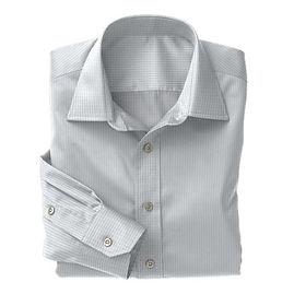 Soktas Lt Blue White Check Dobby Shirt:S2-3540913