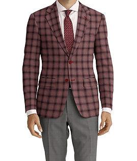 Berry Navy Plaid Jacket:K4-4073372  Trouser:Z2-4186913  Shirt:N6-4071975