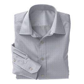 Soktas Blue White Check Dobby Shirt:S2-3540914