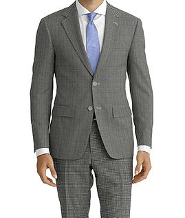 Drago Vantage Grey Lt Blue Glen Plaid Suit:Z2-4071513  Lining:L4-3858929  Shirt:N5-4071883