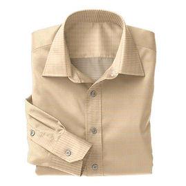 Orange Dobby Shirt:N2-3754023