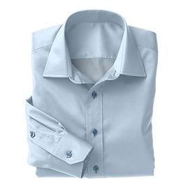 Sky Blue Classic Oxford Shirt:N3-3340136