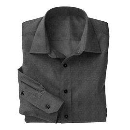 Graphite Melange Shirt:N4-3753543