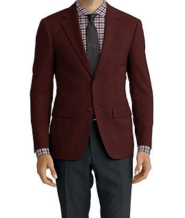Dormeuil Woodland Rouge Texture Jacket:Y6-4185348  Lining:L4-4072755  Trouser:Z2-3336913  Shirt:N5-3962779