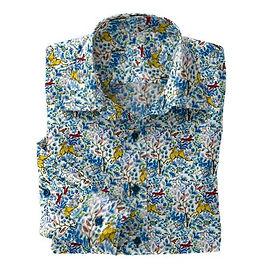 Blue Fox Hunt Stretch Shirt:N7-4073166