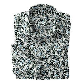 Black Dotted Floral N5-4073196