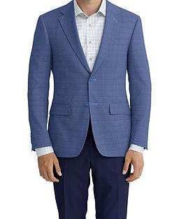 Dormeuil Dorsilk Blue Sky Puppytooth Jacket:Y6-4073717  Lining:L4-4072735  Trouser:K1-3336879  Shirt:N6-4071985