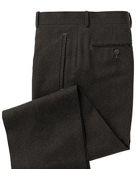 Charcoal Solid Trouser:Z3-3962104