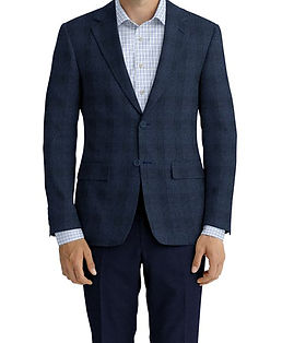 Blue Plaid Jacket:Z3-3962282  Lining:L4-4072791  Trouser:Z3-3962256  Shirt:N6-4071996