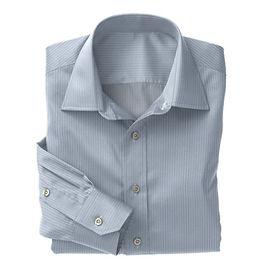 Norwich Sky Blue White Stripe Shirt:N3-3340093
