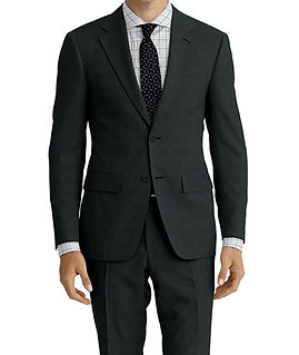 Bankers Grey Sharkskin Suit:E3-4183720  Shirt:N6-3858603