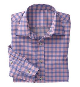 Blue Pink Check Shirt:N5-4074730