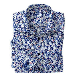 Navy Dotted Floral N5-4073195