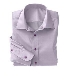 Violet Herringbone Shirt:N3-3340145