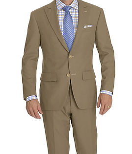 Taupe Suit:Y4-4292972  Shirt:N6-4072063