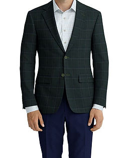 Dark Olive Brown Blue Plaid Jacket:Z4-3962217  Lining:L4-4072730  Trouser:Z3-3962244  Shirt:N6-4071992