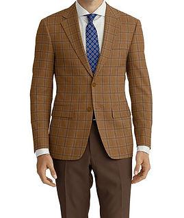 Brown Blue Check Jacket:K4-4073374 Trouser:Z1-3336902  Shirt:N5-4071839