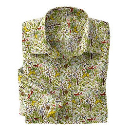 Tan Fox Hunt Shirt:N7-4073167