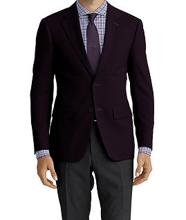 Dormeuil Woodland Blueberry Corduroy Jacket:Y4-4185363  Lining:L4-4072774  Trouser:Z1-3336884  Shirt:N7-4072130
