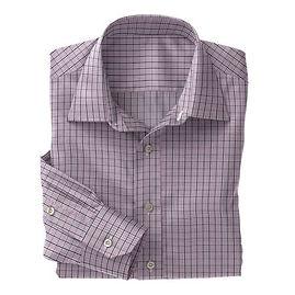 Violet Navy Check Shirt:N3-3858209