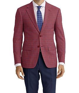 Lt Berry Blue Check Jacket:K4-4073375 Trouser:E1-3642480  Shirt:N6-4071986