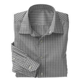 Norwich Black White Check Shirt:N3-3340086