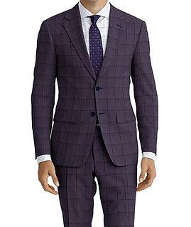 Dormeuil Amadeus Action Denim Midnight Window Suit:Y4-4185226  Lining:L4-4072760  Shirt:N6-4071977