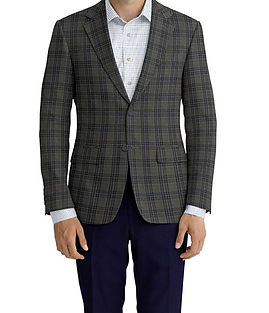 Grey Navy Plaid Jacket:Z2-3961938   Trouser:Z2-4186954  Shirt:N6-4071977