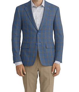 Blue Brown Windowpane Jacket:C6-4074173 Trouser:C6-4074200  Shirt:N6-4072084