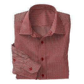 Norwich Red White Check Shirt:N3-3340103