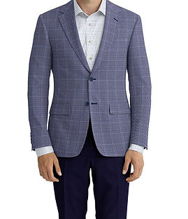 Blue Navy Check Jacket:Z2-3961961  Trouser:Z2-4186954  :N6-4071977