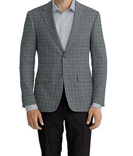 Light Grey Plaid Jacket:K4-4393614  Lining:L4-4072814  Trouser:Z2-4186915  Shirt:N3-3753498