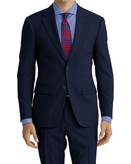 Lt Blue Sharkskin Suit:Z4-4071944  Shirt:N4-3862521
