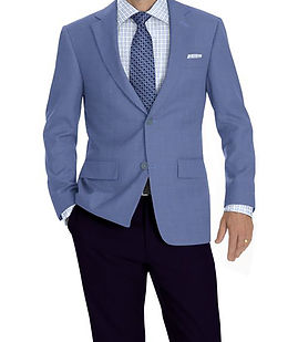 Lt Blue Solid Jacket:K4-3874323 Trouser:Z2-4186918  Shirt:N6-4071996