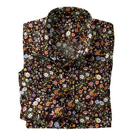 Midnight Garden Stretch Shirt:N7-4073161