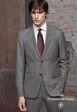 Zegna Custom Suit Fabric