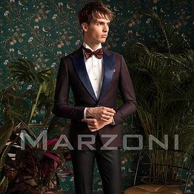 Marzoni Maroon Dinner Jackert 609-418/1000