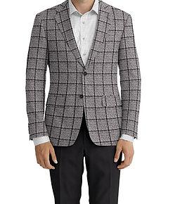 Dormeuil Dorsilk Red Ice Melange Char Window Sportcoat:Y4-4185210  Lining:L4-4072815 Trouser:C6-3336837  Shirt:N6-4071976