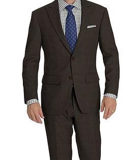 Natural Hopsack Suit:Y4-4292945  Shirt:N6-4072033