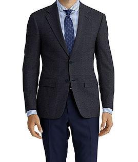 Dormeuil Woodland Blue Grey Char Texture Jacket:Y6-4185353  Lining:L4-4072760  Trouser:Z1-3336891  Shirt:N6-3858598