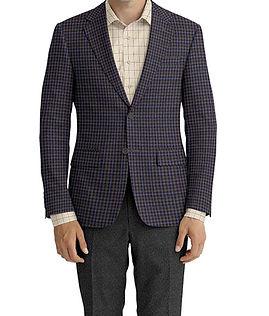 Navy Grey Check Jacket:Z3-3962113  Lining:L4-4072797  Trouser:Z3-3962103  Shirt:N6-3858605