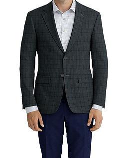 Grey Purple Plaid Jacket:Z4-3962222  Lining:L4-4072797  Trouser:Z3-3962244  Shirt:N6-4071977