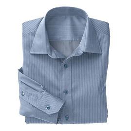 Blue Hairline Stripe Shirt:N3-3340122