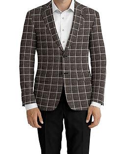 Dormeuil Calypso Black Rope Window Jacket:Y6-4073653  Lining:L4-4072749  Trouser:E1-3642482  Shirt:N3-3858243