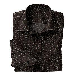 Tan Red Black Floral shirt:N5-4293143