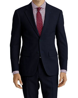 Navy Micro Dot Suit:Z4-4071937  Shirt:N6-4072034